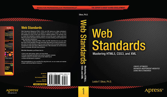 The cover of the book Web Standards