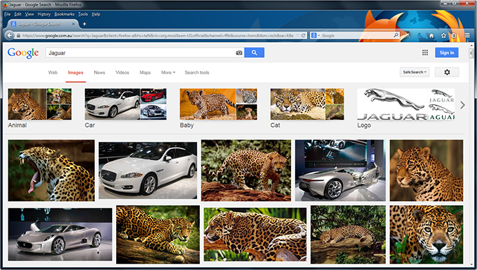 Jaguar: Animal or Car?