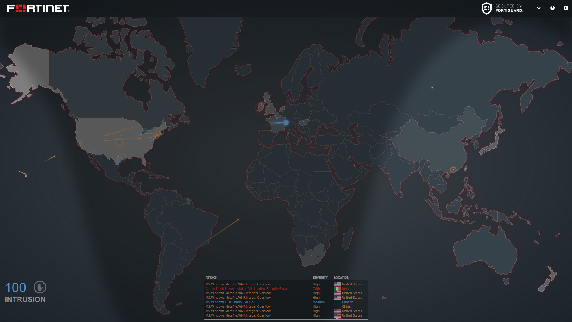 Cyber Maps on